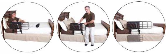 Sponda telescopica supporto per alzarsi dal letto