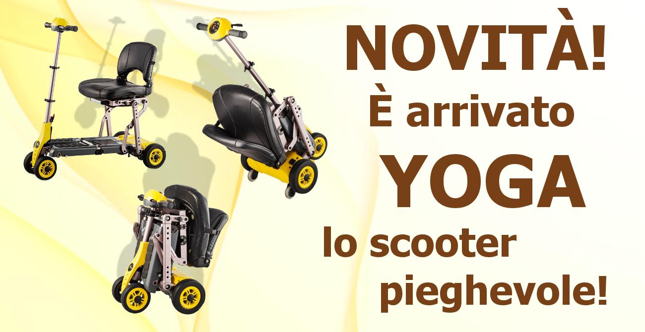 Scooter elettrico pieghevole, veicoli per anziani e disabili