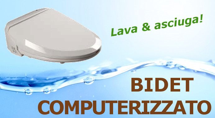 Scopri il bidet computerizzato