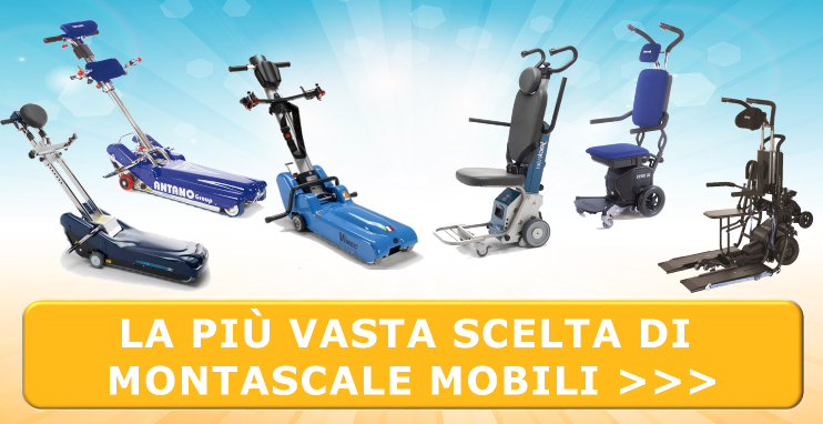Montascale mobili Comfort Online