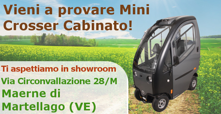 Prova Mini Crosser Cabinato
