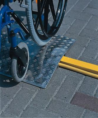 Overcome obstacles ramps with lenght cm 50 and width cm 70