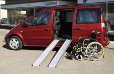 Aluminium folding ramps with lenght cm 150