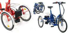Triciclo Pieghevole con motore Mod. R34