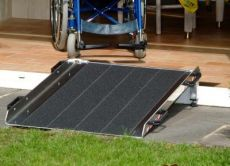 Threshold ramp length 50 cm width 76 cm