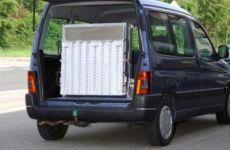 Aluminium folding ramps with lenght cm 220