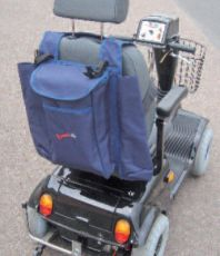 Crutch, Walking Stick and Back Bag