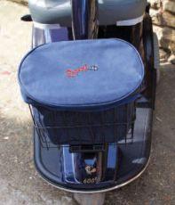 Large front basket bag