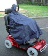 Scooter rain cape