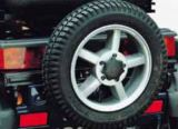 Supporto per ruota di scorta per Mini Crosser