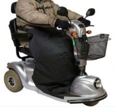 Thermocover for scooter drivers