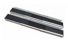 Aluminium telescoped ramps, width 20 cm