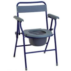 Sedia WC pieghevole