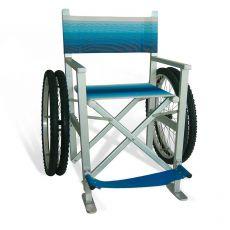 SOLEMARE sedia da spiaggia con ruote pneumatiche