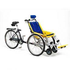 Bicicletta combinata con carrozzina Duetto