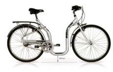 """Bicicletta con telaio basso, ruote da 26"""""""