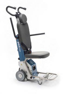 Montascale a ruote con poltroncina Yack N961 con corso addestramento uso a domicilio